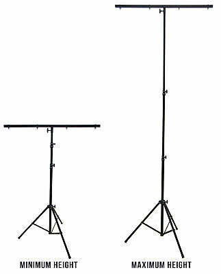 Harmony Audio HA-TBARSTAND Pro DJ Lighting Tripod & T-Bar Portable Light Stand