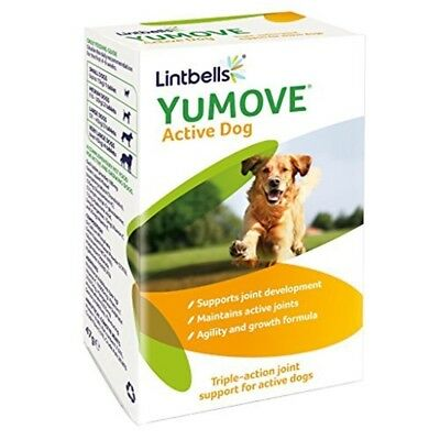 Lintbells Yumove Active Dog Joint Supplements (240 Tablets) - Tablets 240