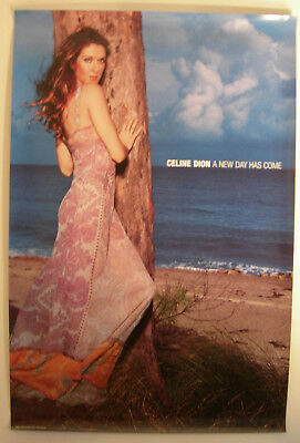 Celine Dion A New Day Has Come Promo Poster 2002