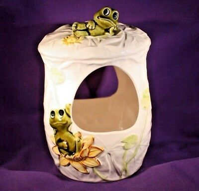 Vintage 1976 Neil The Frog Hanging Planter Sears Roebuck Exclusive 1977