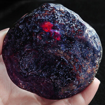 42.66g 100% Natural Polished Mexican Blue Amber Potato Intact Specimen YQB375