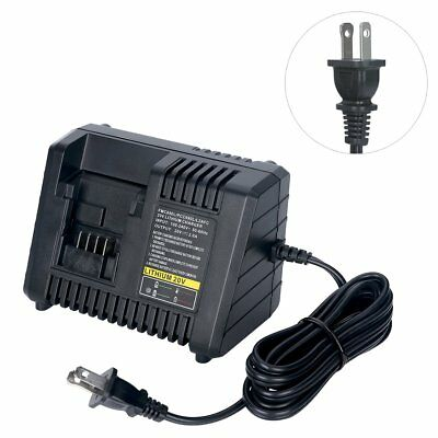 20V Lithium Battery Charger For All Black and Decker & Porter Cable & Stanley