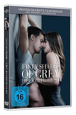Fifty Shades Of Grey 3 Befreite Lust Unverschleierte  Filmversion Dvd Deutsch