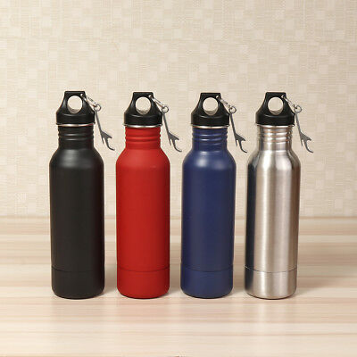 12oz Stainless Steel Beer Water Bottle Mug Holder Cooler Thermo Cold Keeper