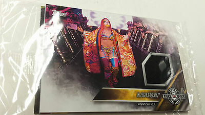 2016 Topps WWE Asuka NXT London Takeover Authentic Mat Relic