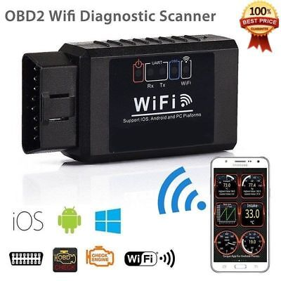 Auto Car ELM327 WIFI OBD2 OBDII Diagnostic Scanner Scan Tool For iOS Android  yy