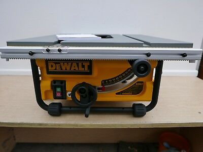 Dewalt Dw745 Table Saw Parts Package   Table Top & Main Unit With 240V Motor