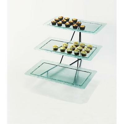 Cal-Mil - 1710-13 - 3-Tier Glass Tray Stand
