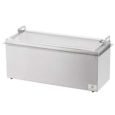 Server - 67160 - Insulated Drop-In 3-Pan Relish Server