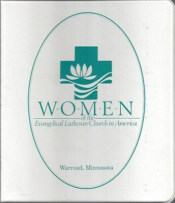 Warroad Mn 1994 Zion Lutheran Church Women Cook Book Ethnic German Scandinavian+