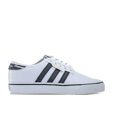 finest selection b700a def7c Chaussures à lacets Adidas Seeley blanches Casual garçon 88vEOw
