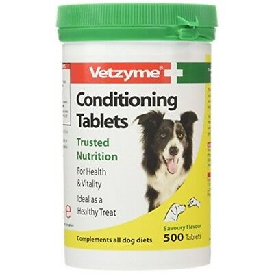 Vetzyme Conditioning Tablets, 500 Tablets - Dogs Health Vitamins