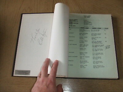 SIGNED 1970s Cades County 23 Episodes Arnie 46 Ep TV Cast Lists HC Bound FOY CBS