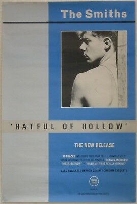 The Smiths 1984 Hatful Of Hollow Rough Trade Promotional Poster
