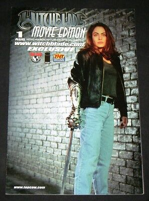 WITCHBLADE: MOVIE EDITION #1 Exclusive Photo Cover - Michael Turner Art!