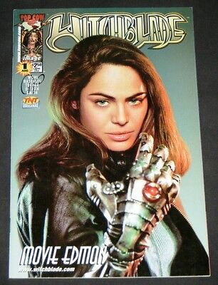 WITCHBLADE: MOVIE EDITION #1 PHOTO COVER, Top Cow/Image 2000 - Michael Turner!