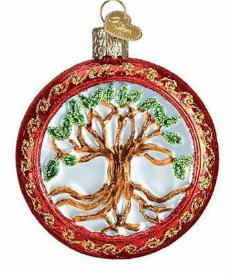 Tree Of Life Old World Christmas Glass Ornament Eternal Life Ornament Nwt 36233
