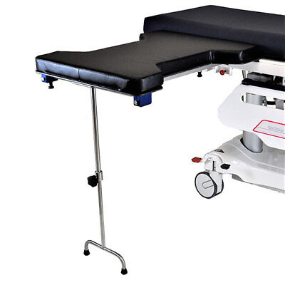 New MCM-338 Underpaid Phenolic Hourglass Arm Hand Double Leg Surgery Table