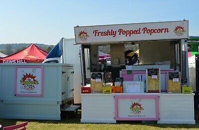 Mobile Popcorn Business - Shows/Events - Ready to Work