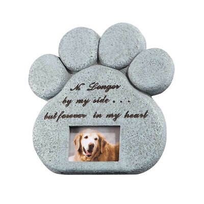 Pet Memorial Stone with Photo Frame