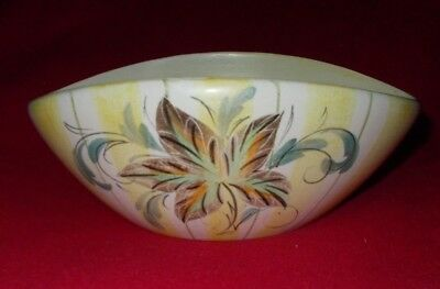 Bourne Denby Glyn Colledge Signed Bowl (Shaped) Approx 9 1/2 X 6 3/4 Inches