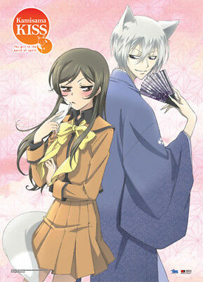 Wall Scroll - Kamisama Kiss - New Tomoe & Nanani Stare Art Licensed ge60747