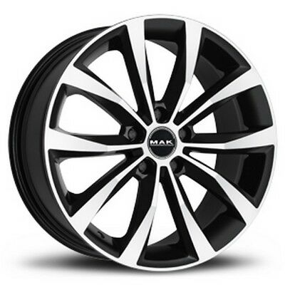 "CERCHI IN LEGA MAK HONDA ACCORD C MILANO BLACK MIRROR 17/"" 7J 5X114,3"