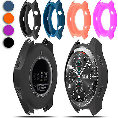 Silicon Slim Smart Watch Case Cover Wristwatch Band For Samsung Gear S3 Frontier