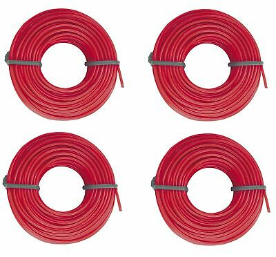 3mm x 15m Garden Trimmer Line Electric Strimmers Grass Lawn Weeds Heavy Duty Red