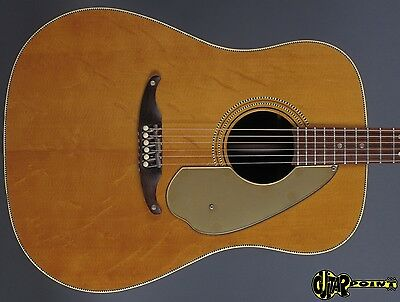 1965 Fender Kingman Flattop  - Natural Mahogany /Spruce Top