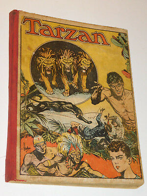 1952 ANCIEN BD album COLLECTION TARZAN série n°9 mondiales ANTHOR kubor LUSHA