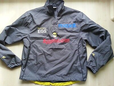 LILLESTRÖM SK Norwegen DIADORA-Football-Windbreaker-Blouson-Trikot-Shirt M Norge