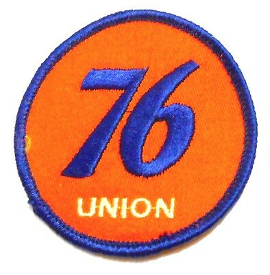 """Union 76 Gasoline Patch Embroidered Oil 2-7/8"""" inches Original"""