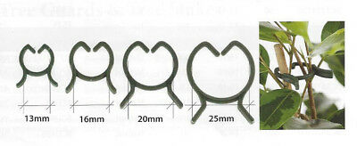 Clip Rings Mixed Packs Expandable Reusable Plastic Plant Stays Fasteners