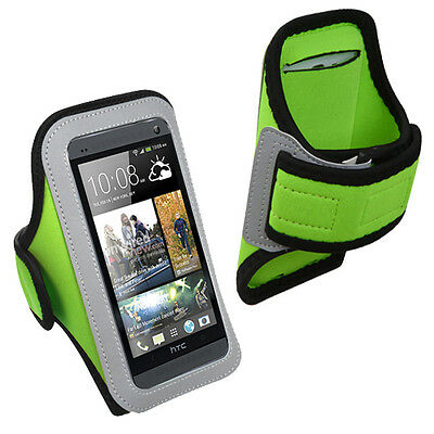 For HTC One M7, One M8 M9 Gym Sports Running Armband Jogging Case Cover Holder