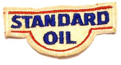 "Standard Gasoline Patch Embroidered Oil 3-3/8"" inches"