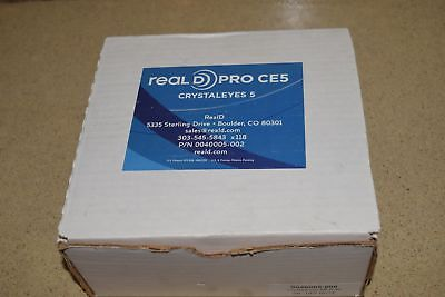 ^^ Real D Pro Ce5 Crystal Eyes 5 P/n 0040005-002 Model 100103-03 -New (#3)