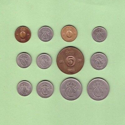 Sweden - Coin Collection - Lot # K-34 - World/Foreign/Europe