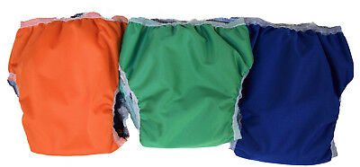 1 Cloth Pull up Training Pants Waterproof + inner absorbency CHILD SIZE 6