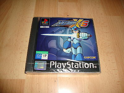 Megaman X6 By Capcom For Play Station 1 Ps1 Brand New Factory Sealed
