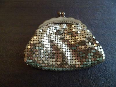 Vintage Oroton Ladies Gold Mesh Coin Purse Made in Germany