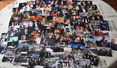 LOT DE 300 PHOTOS JOHNNY HALLYDAY 10X15 cm  DIFFERENTES + ALBUM PHOTO EN CADEAU