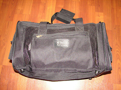 e26dc9c83f SHERPA DELTA DELUXE Pet Carrier Medium Black Dog Cat Soft Sided ...