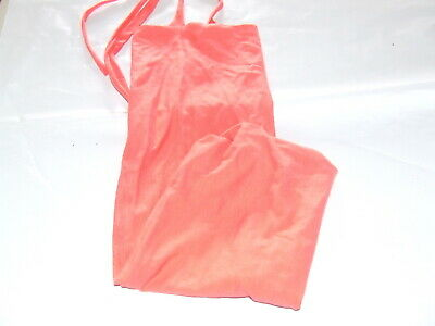 Ecotak Lycra Rugless Tie in Tail Bag - Coral cotton mini Ecotak