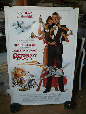 OCTOPUSSY, orig rolled 1-sht / movie poster (Roger Moore/James Bond, Maud Adams)