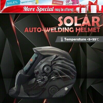 Pro Solar Auto Darkening Welding Helmet Arc Tig Mask Shield Xman
