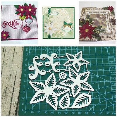 Flowers Metal Cutting Dies Scrapbook Embossing Stencils Album Card Paper Craft