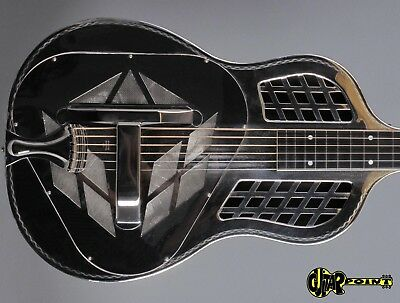 1933 National Tricone Style 1.5  Squareneck Resonator Guitar Hand engraved