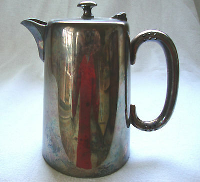 Antique Montfort Silver Plated Epns Table Serving Hot Water Jug / Coffee Pot