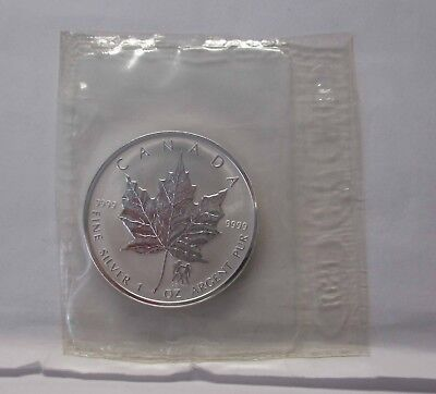"Kanada 2004,"" 5 Dollar, Maple Leaf Privy Mark, Gemini/Zwillinge"" Si"